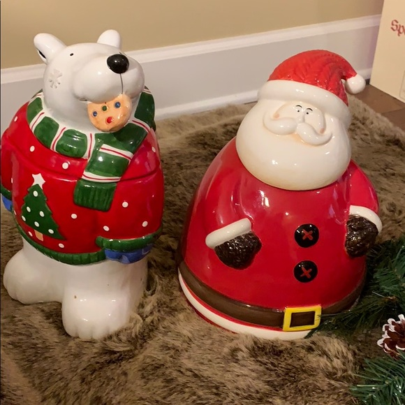 Santa Claus Cookies Jars From Neiman Marcus Ret